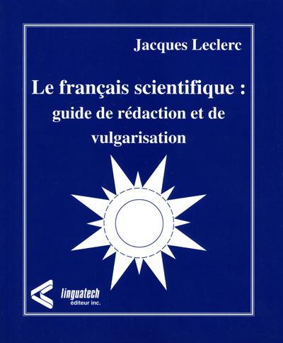 Le français scientifique